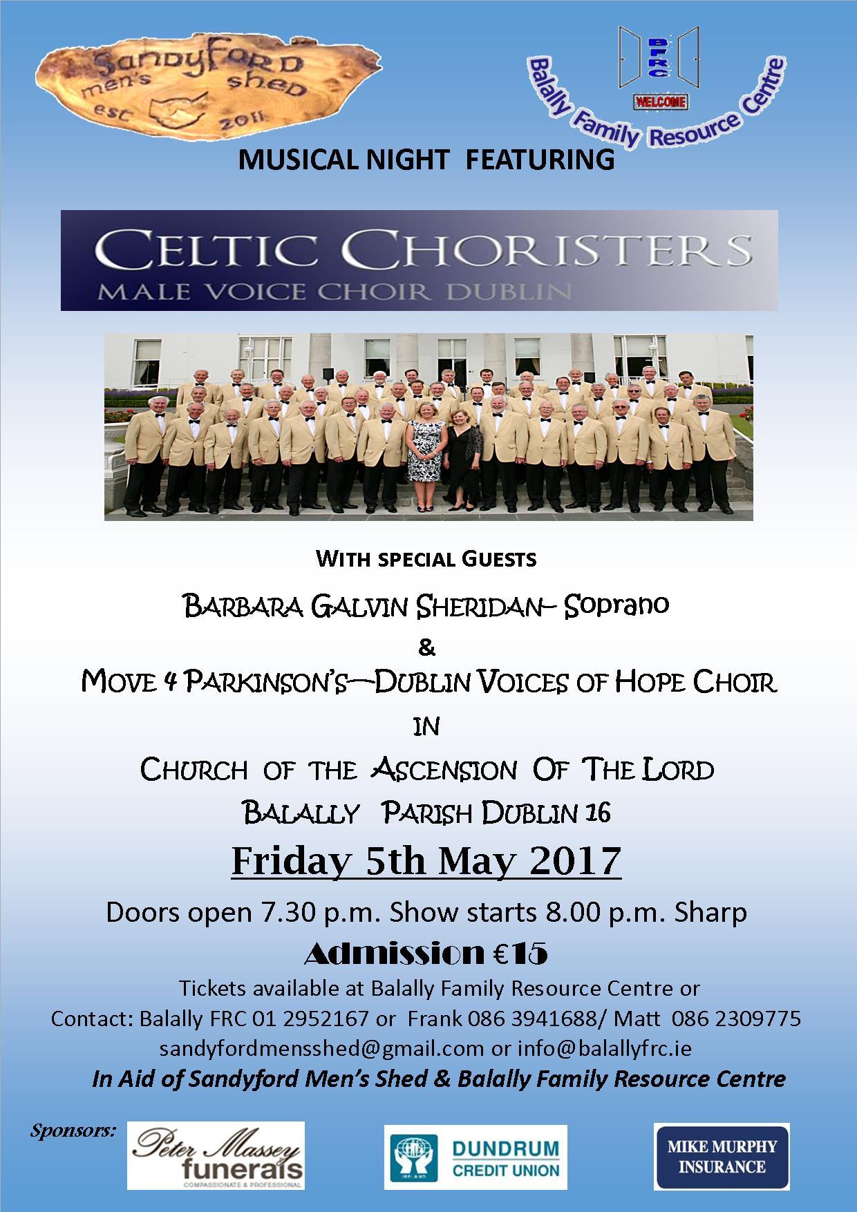 Celtic Choristers Dublin Male Voice Choir