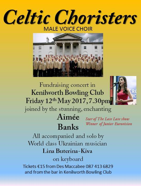 Celtic Choristers Kenilworth Bowling Club 2017